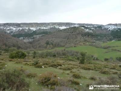 Salto del Nervión - Salinas de Añana - Parque Natural de Valderejo;los galayos gredos mapas de rut